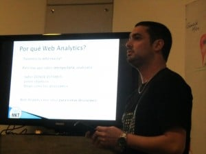 Charla Web Analytics en SUMA
